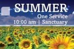 Wellshire Summer Worship Schedule