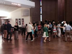 Swing Dance at Wellshire, October 2014