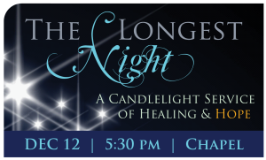 The Longest Night service 2014