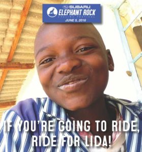 Ride for Lida with Team Zimbabwe in 2016