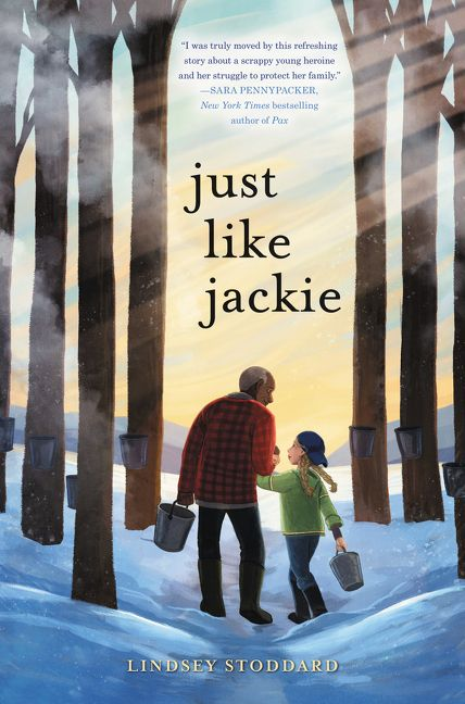 Book - Just Like Jackie by Lindsey Stoddard