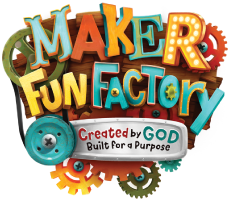 Vacation Bible School 2017 logo - Maker Fun Factory