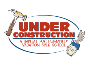Vacation Bible School 2018 - Under Construction Logo