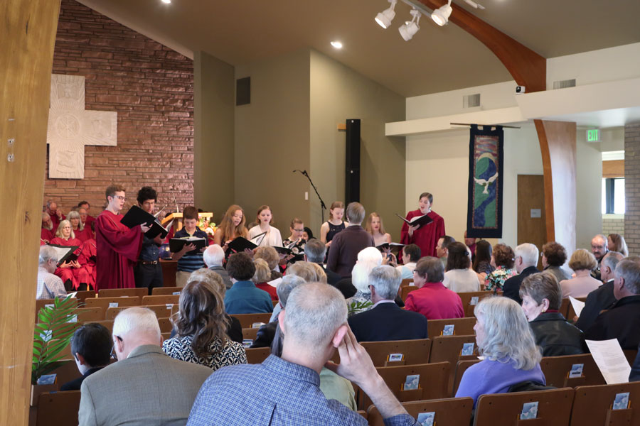 Worship in the Wellshire Chapel