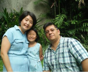 Rev. Cathy Chang and Juan Lopez
