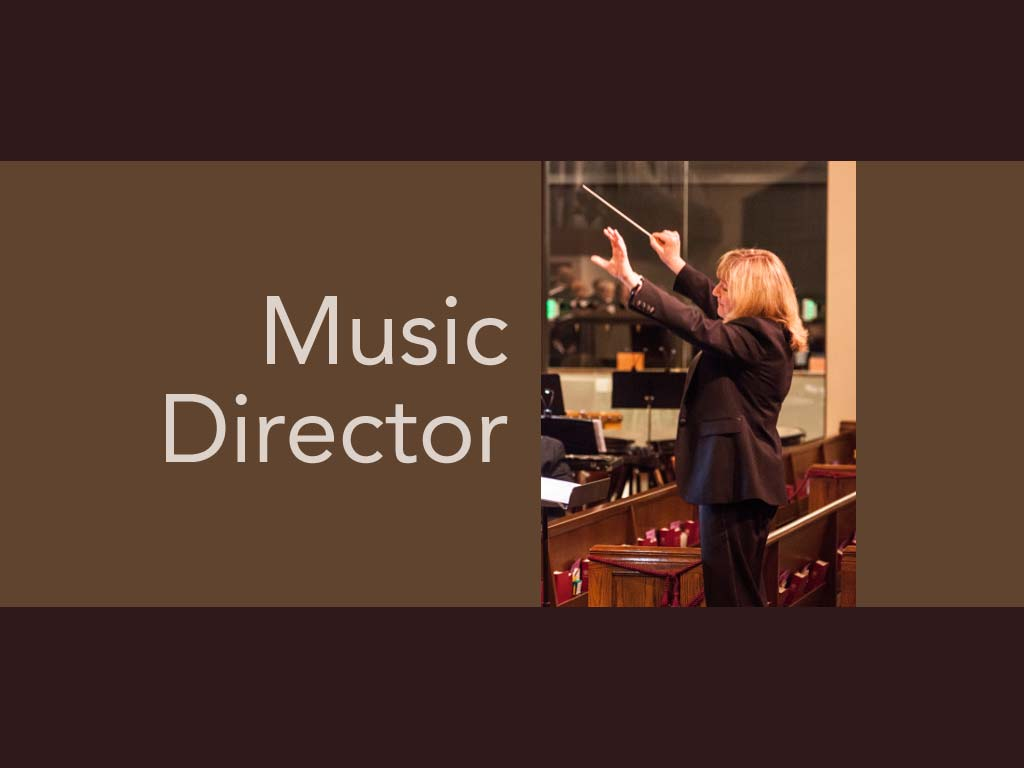 Welcome our new Music Director