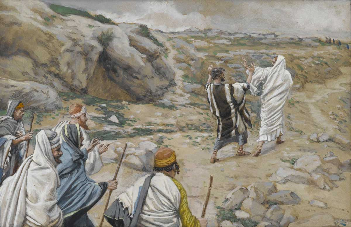 Sermon illustration art by James Tissot