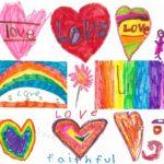 Children's Sunday art