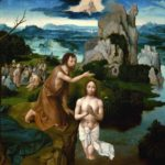 sermon illustration the Baptism of Christ by Joachim Patinir