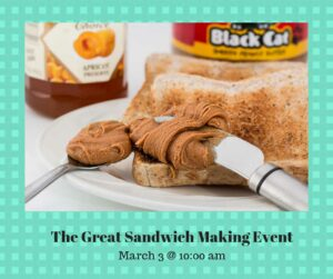 Sandwich making event