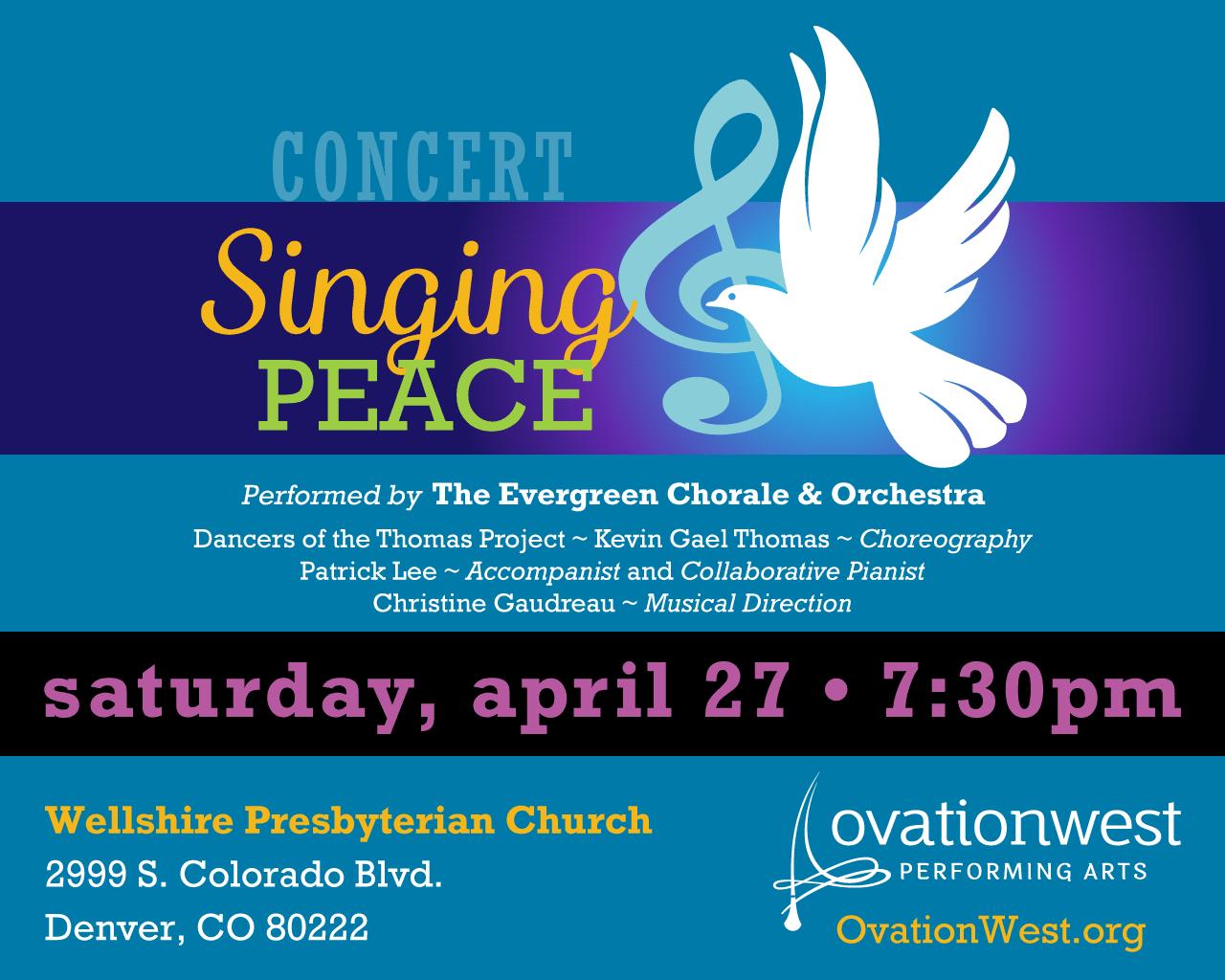 Singing Peace concert