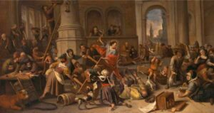 Sermon Illustration. Art by Jan Steen