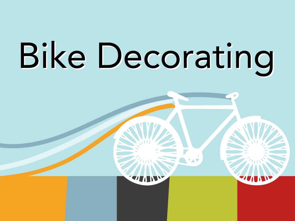 bike decorating at south by southeast