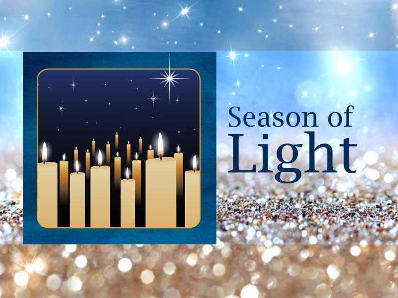 Evergreen Chorale Season of Light concert