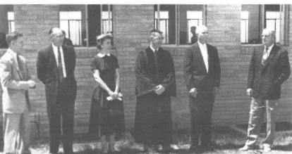 Groundbreaking for Sanctuary - 1955