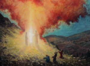 sermon illustration: The Transfiguration of Christ by Earl Mott