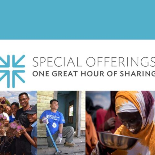 Give To One Great Hour Of Sharing