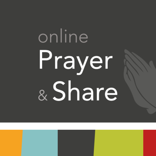 Wednesday Online Prayer & Share