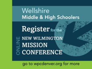 New Wilmington Mission Conference online
