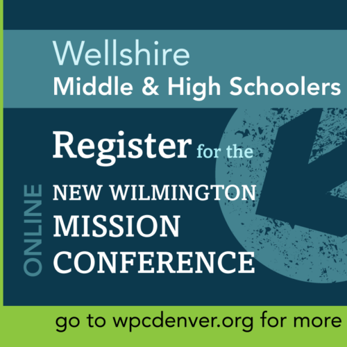 Mid and High Schoolers: Register for the New Wilmington Online Mission Conference