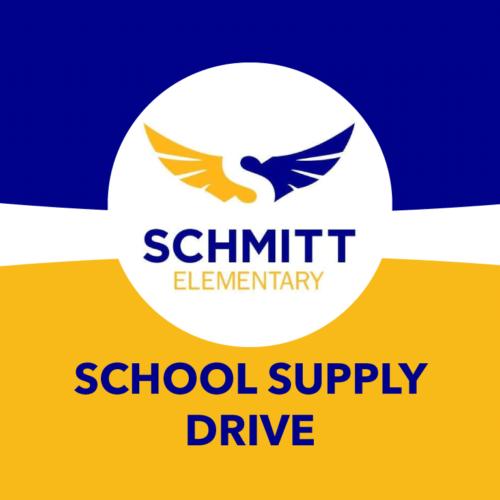 Give the Children of Schmitt Elementary the Gift of School Supplies