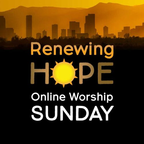 Worship Online: Sunday at 9:00  am