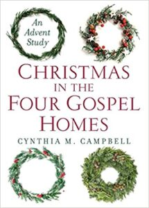 Christmas in the Four Gospel Homes book cover