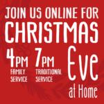 Christmas eve live stream times